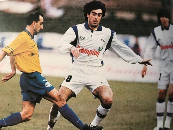 Photos de Thierry Moreau et Jacky Paillard durant la saison 1994/1995