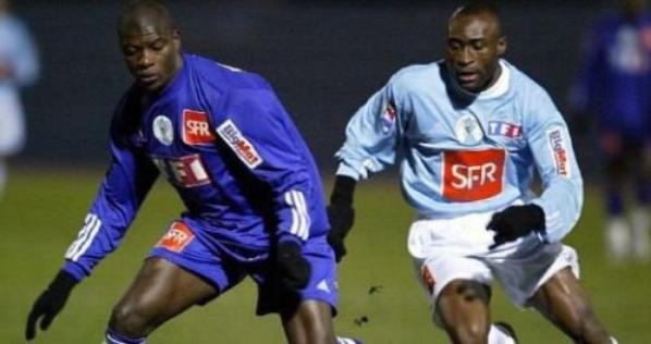 Photos du match Racing Club Paris TFC du 03/01/2004 :32ieme de finale de coupe de france