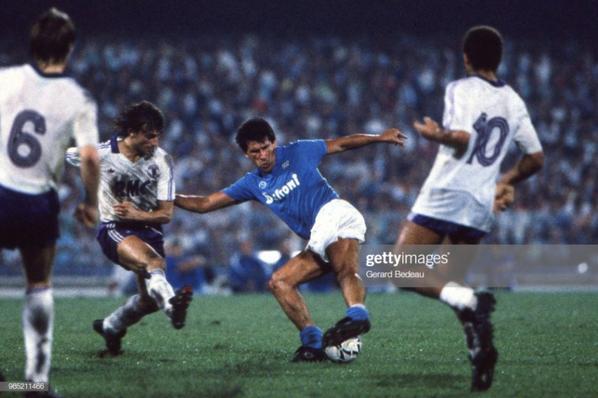 Photos du match Naples TFC du 17/09/1986