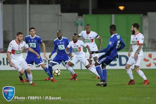Photos du 16ieme de finale Bourg Peronnas TFC du 23/012018