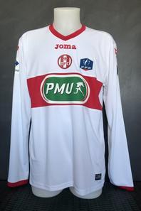 Mes trois maillots de Coupe de France du match Bourg Peronnas TFC du 23/01/2018