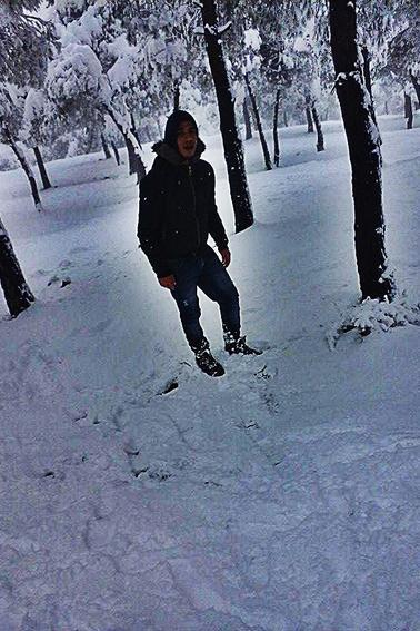 les souvenirs de la neige