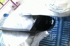 mise en peinture d'un phare
