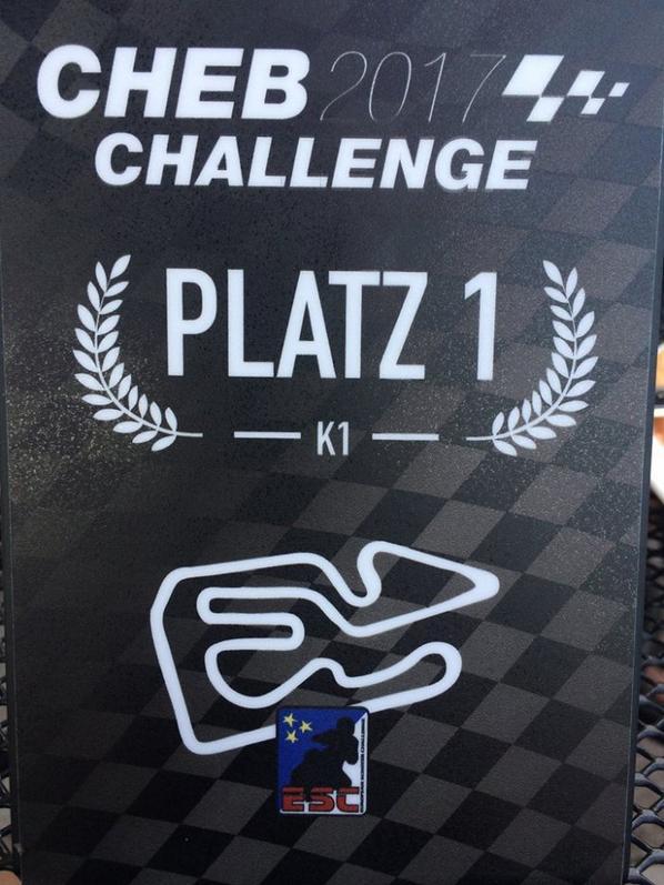 podium du week end en Tchequie !!! avec un chrono de ouff