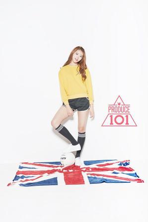 Photoshoot PRODUCE 101 #1(Nayoung)
