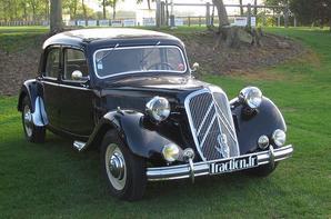 Citroën Traction modifiée