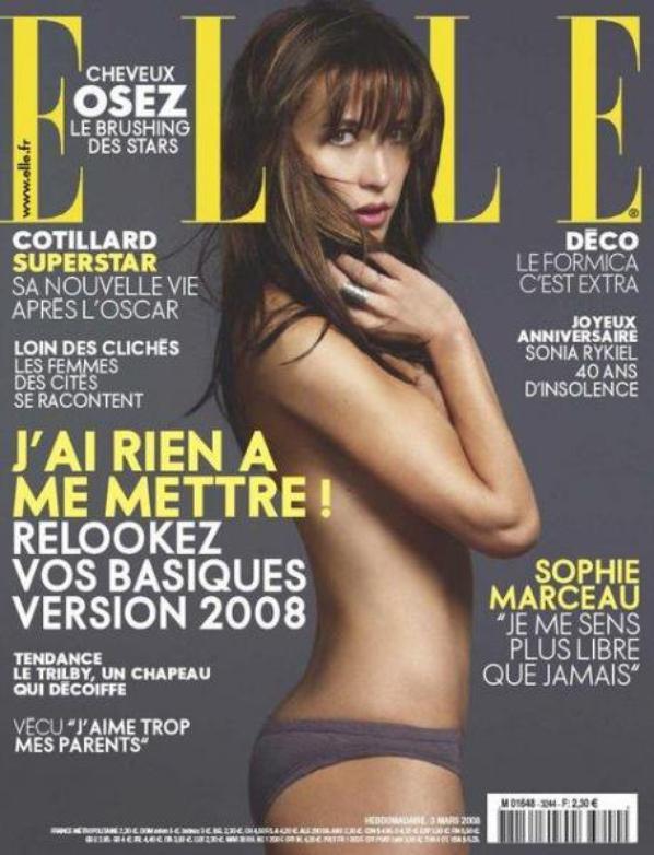 Sophie Marceau : Galerie de photos en 2008