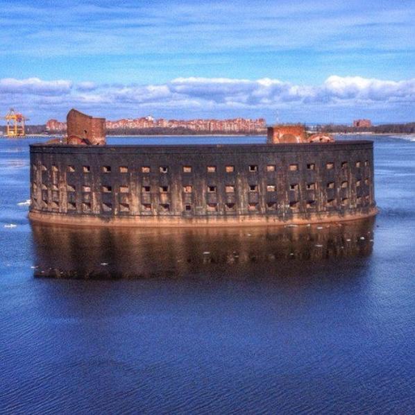 Peste Fort» à Cronstadt, Russie