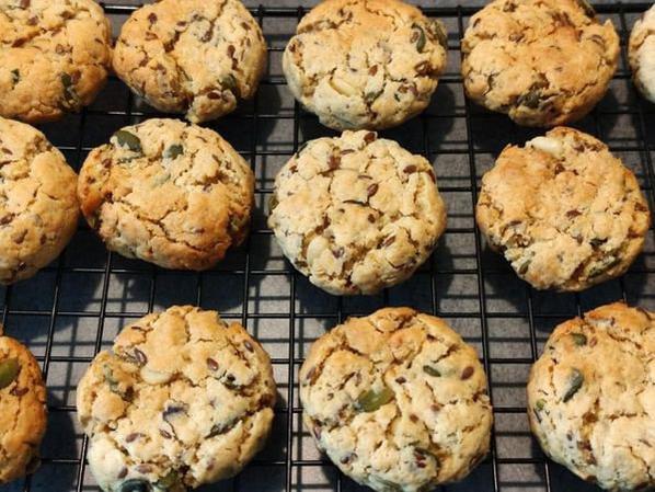 Cookies aux graines.