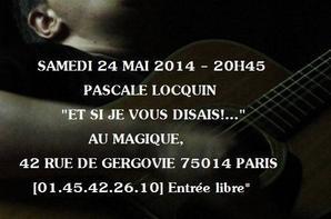 Pascale Locquin en concert 24 mai - Paris