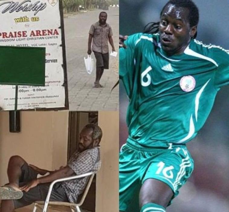 Photos troublantes de l'ex-joueur des Super Eagles, Wilson Oruma, victime d'une rechute après un traumatisme émotionnel ...