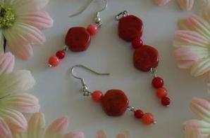 bijoux corail rouge