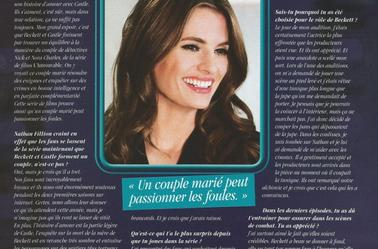 Scan Serie Mag ! Article Sur Stana & Nathan ;)