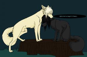 Shadow X Drago Wolf Version