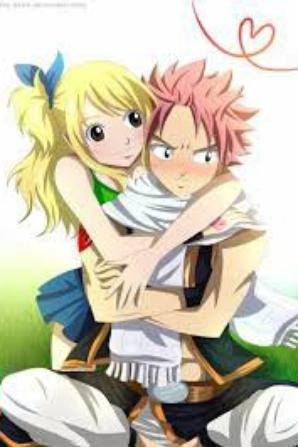 """le couple """" natsu et lucy """" de fairy tail"""