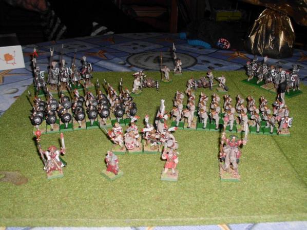 Une petite armée de wargames