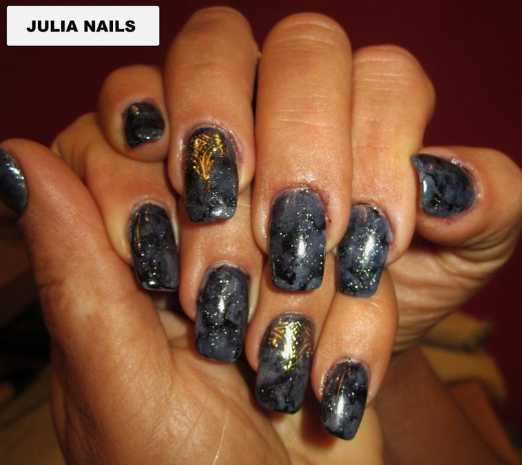 ongle en gel pronails effet marbre blog de nails julia 933. Black Bedroom Furniture Sets. Home Design Ideas