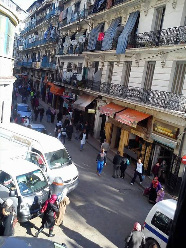 rue Meissonier à Alger