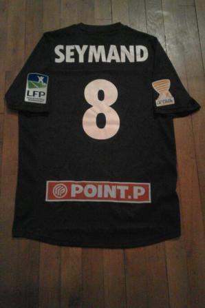 143ième maillot porté par Mickaël SEYMAND
