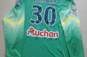 157ième maillot porté par Bingourou KAMARA lors du match face à Évian
