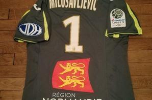 224ième maillot porté par stefan MILOSAVLJEVIC du match à Tours