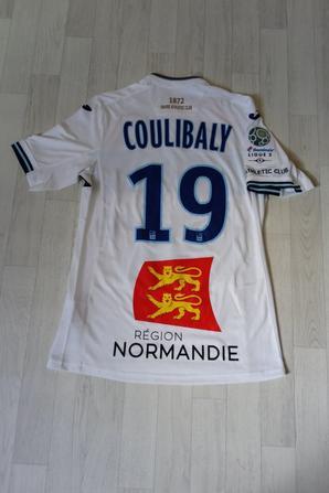 283ième maillot donné par Yacouba COULIBALY lors de 30ième journée à CHATEAUROUX