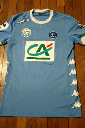 287ième maillot porté par Stéfano CAILLE face à Metz