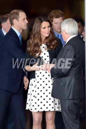 The Duke & Duchess Of Cambridge & Prince Harry Attend The Inauguration Of Warner Bros Studios Leavesden