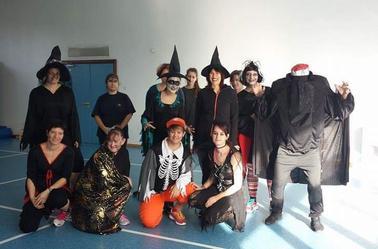 ZUMBA !!!!!! =) halloween