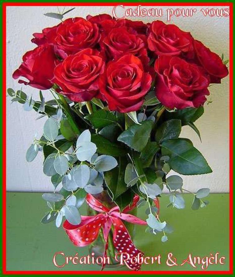 cadeaux de robert et angel, catégorie fleurs !