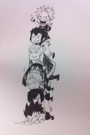 New dessins d'Hiro Mashima avant Noel !