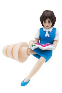 """japanese capsule toy """"quiet sleep office lady twins AN&MIN"""""""