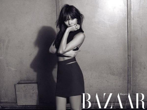 Hyun A, So Hyun et Gayoon Pour Harper's BAZAAR ( preview )