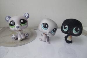Lili, Etoile et Pingui a la patinoire <3