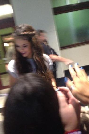Photo de Selena prise par des fans