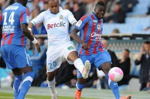 maillot porté par Mbaye NIANG avec SM CAEN en 2011/2012