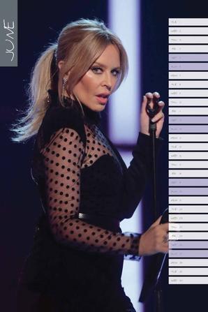 Calendrier 2021 - Kylie Minogue
