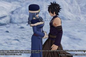 Capture d'Ecran PS4 jeux Fairy Tail  Grey et Jubia