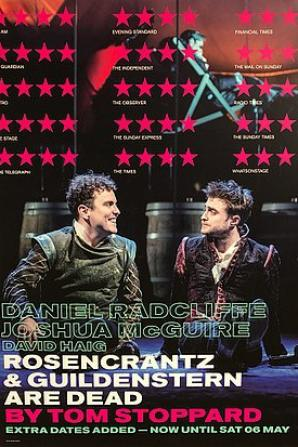 "Article 3 - ♥ Rencontre avec Daniel Radcliffe - ""Rosencrantz And Guildenstern are dead"" - Théâtre THE OLD VIC à Londres ♥"