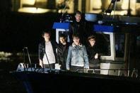 Les Boys entrain de filmer le nouveau clip