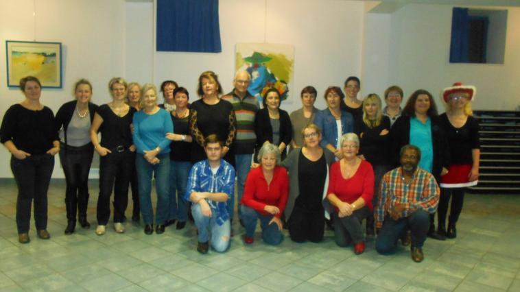 Photo groupe niveau Intermédiaire