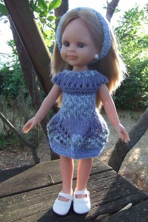Encore un peu de tricot.