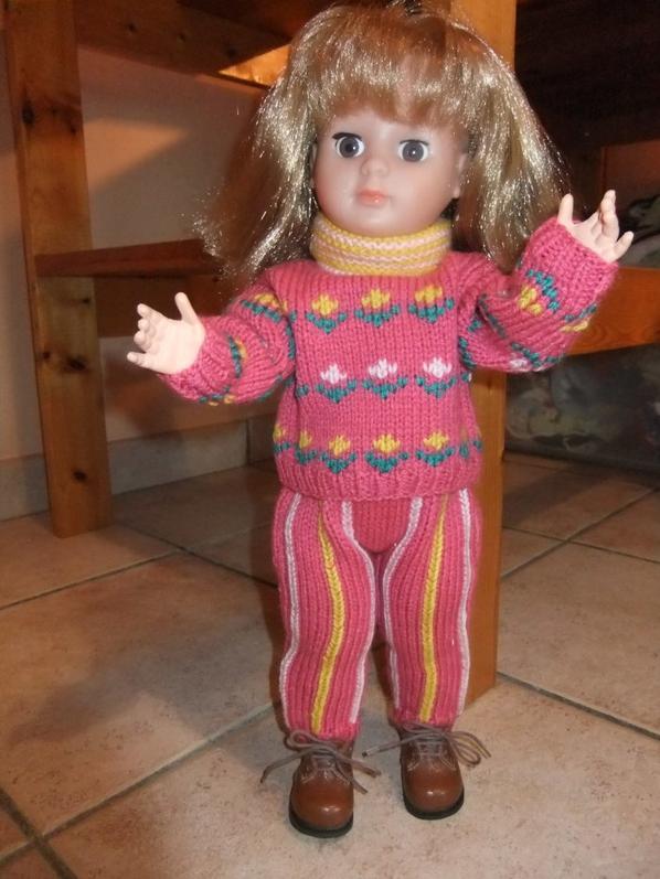 Marie-Françoise veut aussi aller à la montagne: modèle de janvier 1986