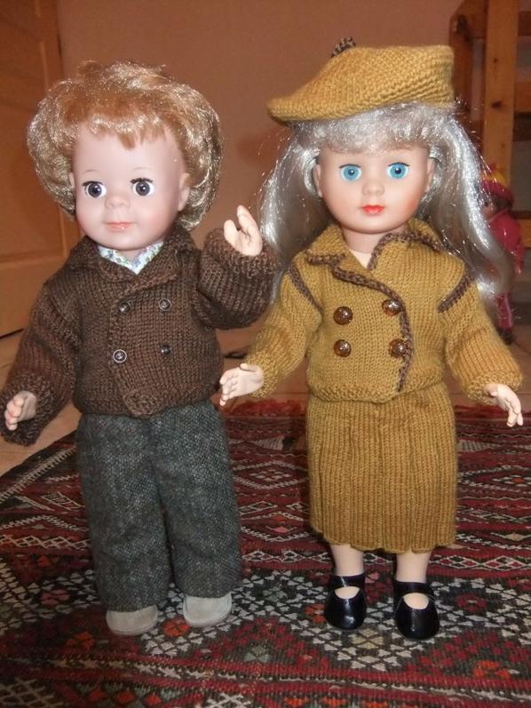 Marie-françoise et Michel veulent aller se promener!
