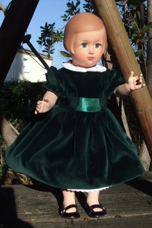 Décembre 1951: version en velours vert!