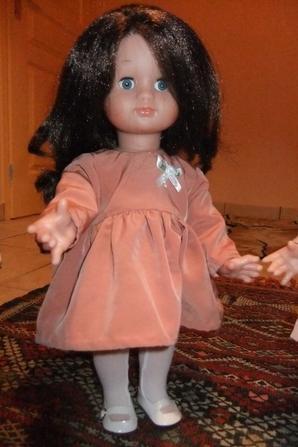 Emilie en tenue de décembre 2016