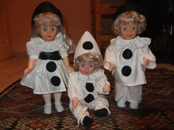 Les petits Pierrots!