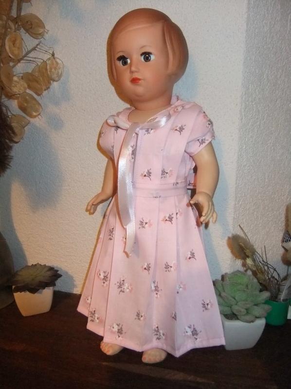 En echo à Michette151142, la chemise de nuit de mai 1951!
