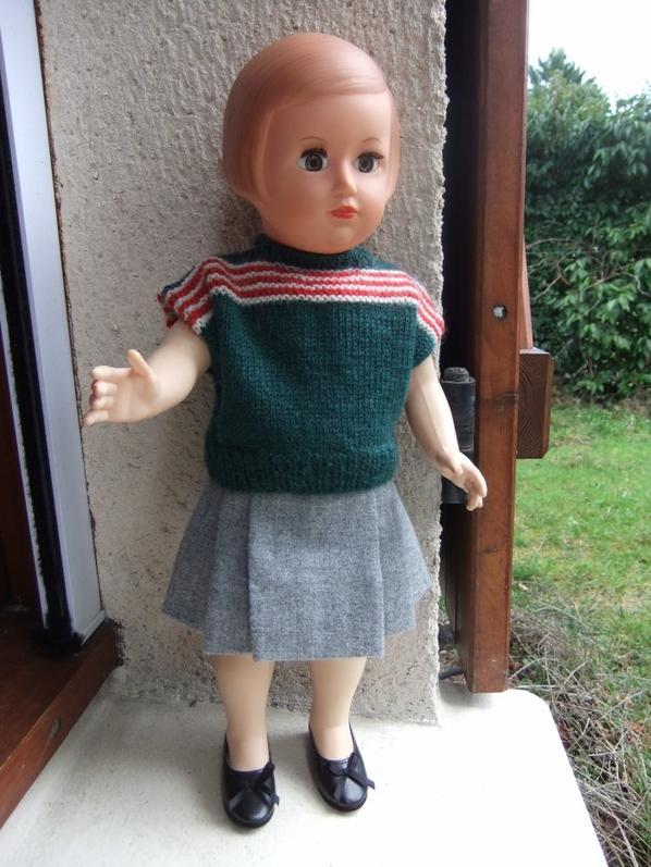 Françoise en tenue de 1953!