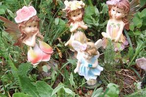 Aujourd'hui, chez moi sont arrivées 4 petites fées venues de l'Oklahoma!
